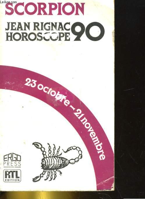 SCORPION. HOROSCOPE 90