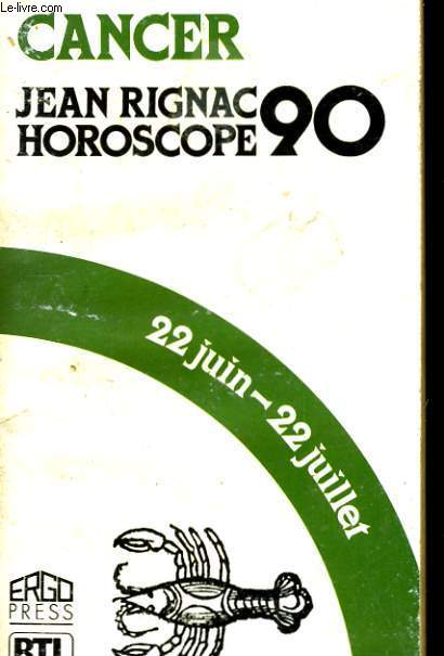 HOROSCOPE 1990 CANCER.