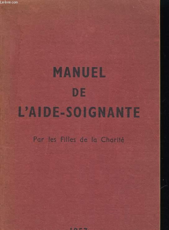 MANUEL DE L'AIDE SOIGNANTE