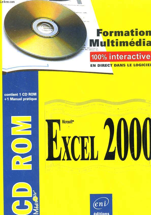 FORMATION MULTIMEDIA, MICROSOFT EXCEL 2000