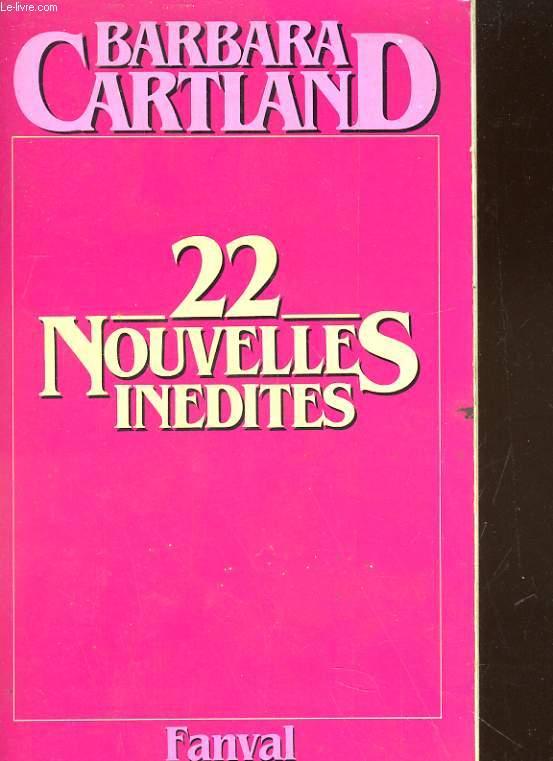 22 NOUVELLES INEDITES