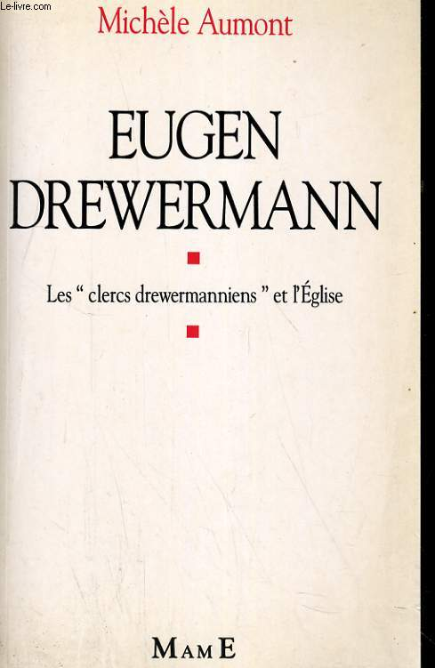 EUGEN DREWERMANN. LES