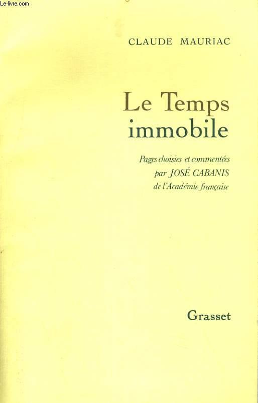 LE TEMPS IMMOBILE