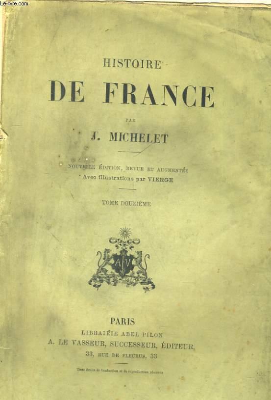 HISTOIRE DE FRANCE. TOME DOUZIEME