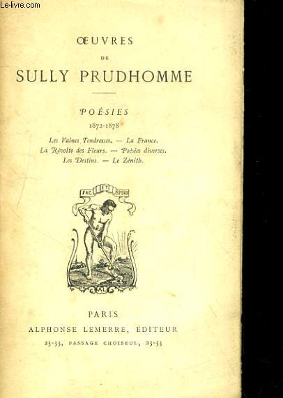 SULLY PRUD'HOMME RO20135238
