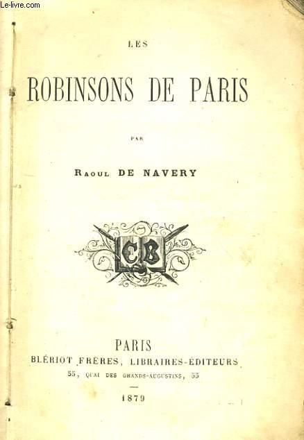 LES ROBINSONS DE PARIS