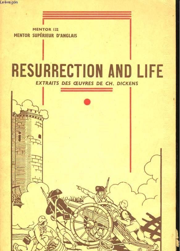 MENTOR SUPERIEUR D'ANGLAIS, RESURRECTION & LIFE