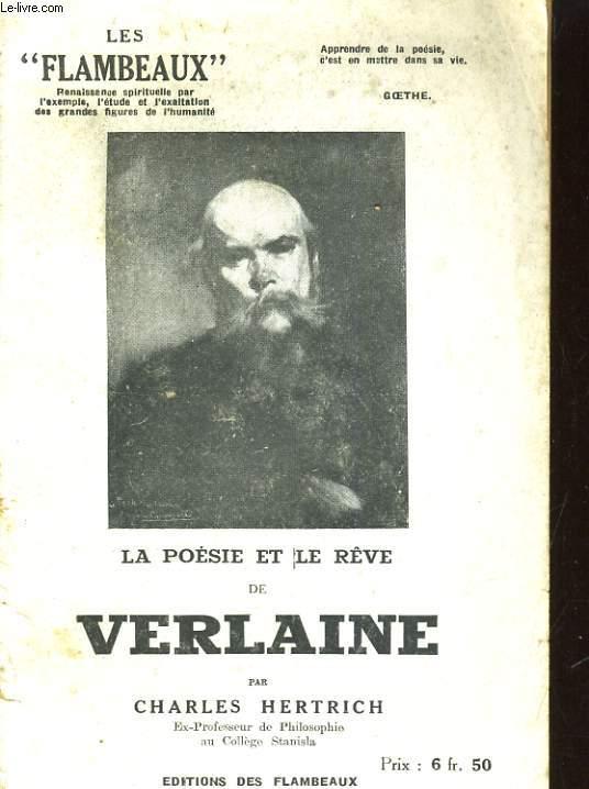 LA POESIE ET LE REVE DE VERLAINE