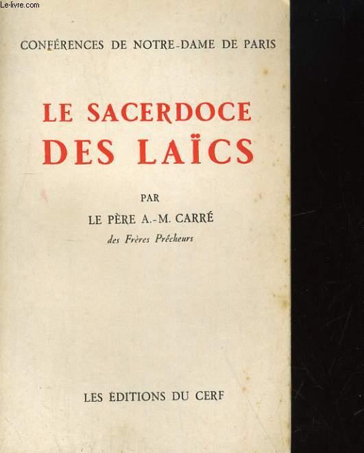 LE SACERDOCE DES LAICS