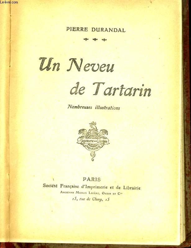 UN NEVEU DE TARTARIN