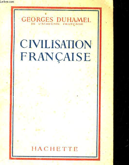 CIILISATION FRANCAISE