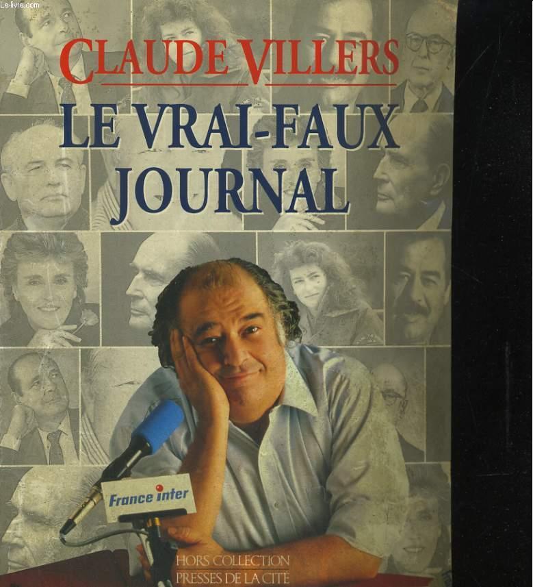 LE VRAI-FAUX JOURNAL