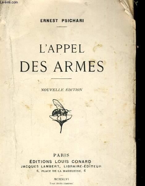 L'APPEL DES ARMES