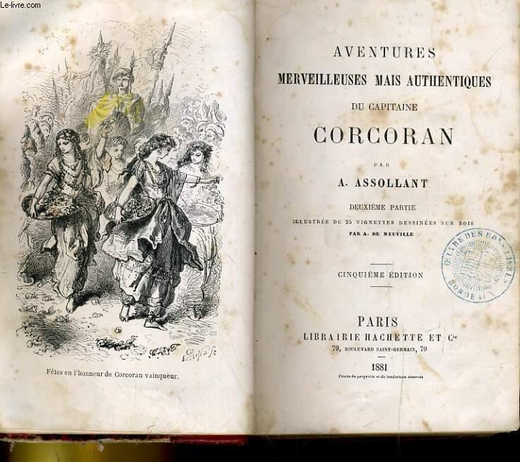 AVENTURES MERVEILLEUSES MAIS AUTHENTIQUES DU CAPITAINE CORCORAN. DEUXIEME PARTIE
