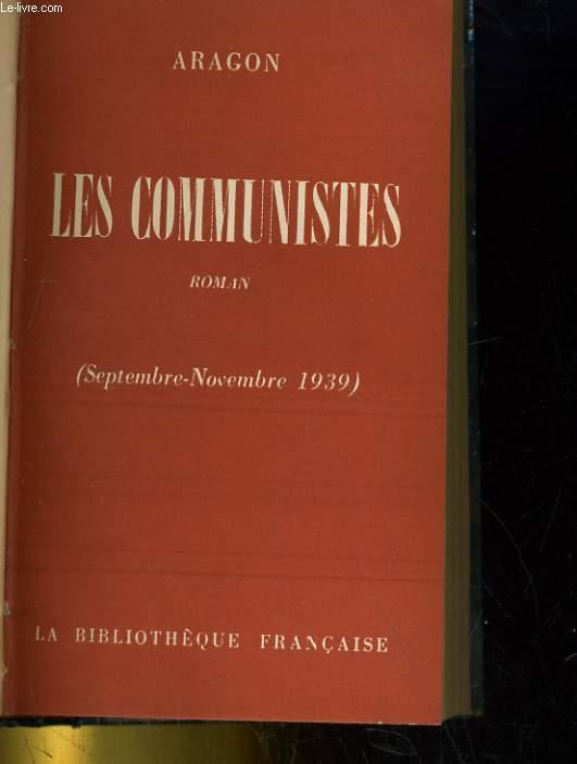 LES COMMUNISTE (septembre-novembre 1939)