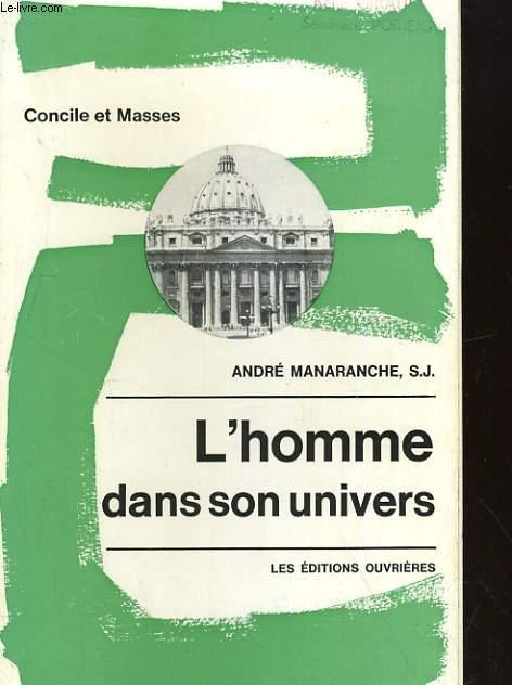 L'HOMME DANS SON UNIVERS