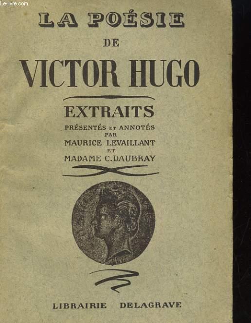 L'OEUVRE DE VICTOR HUGO. EXTRAITS