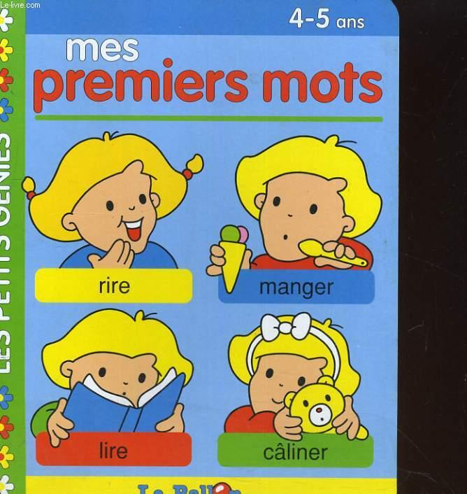 MES PREMIERS MOTS 4-5 ANS