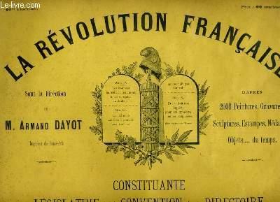 LA REVOLUTION FRANCAISE 10me FASCICULE. DANTON, DUC DE BRUNSWICK ET KELLERMAN...