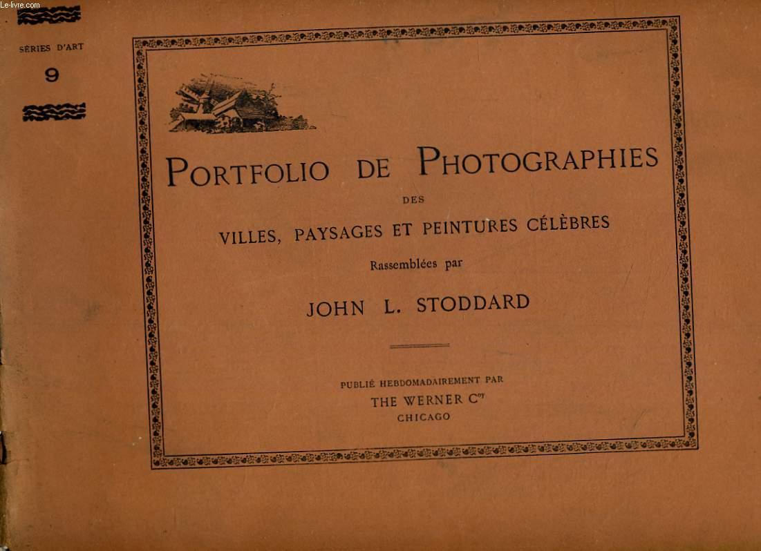 PORTFOLIO DE PHOTOGRAPHIES DES VILLES, PAYSAGES ET PEINTURES CELEBRES RASSEMBLEES N°9