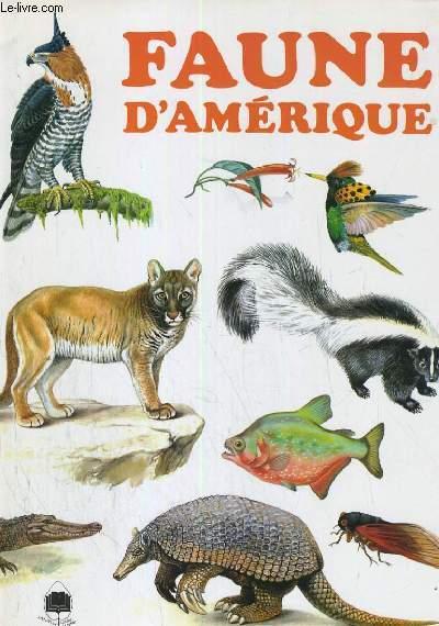 FAUNE D'AMERIQUE