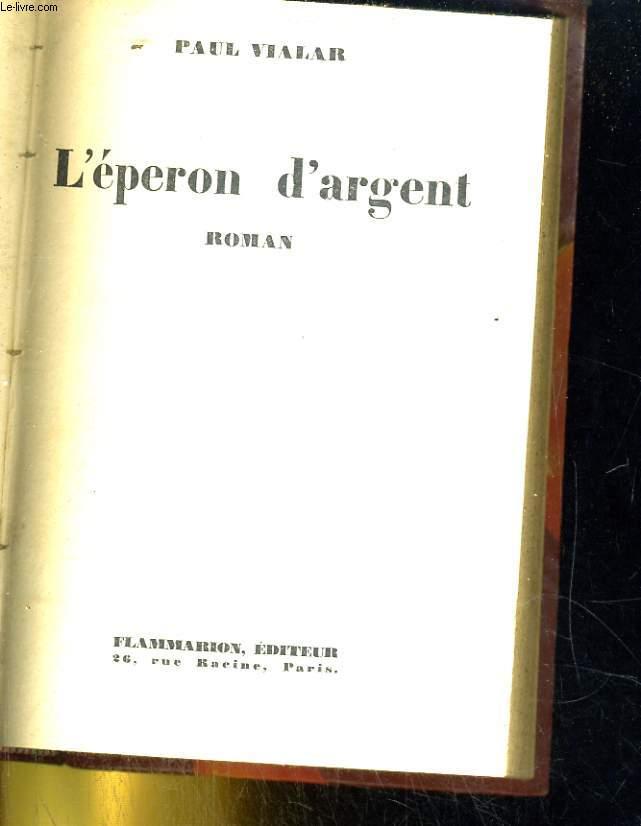 L'EPERON D'ARGENT ROMAN