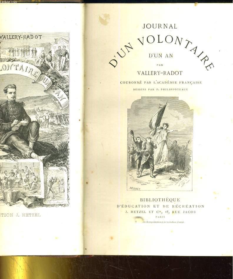 JOURNAL D'UN VOLONTAIRE