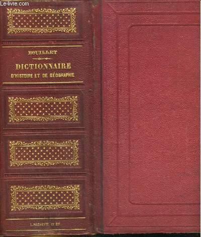 DICTIONNAIRE UNIVERSEL D'HISTOIRE ET DE GEORGAPHIE