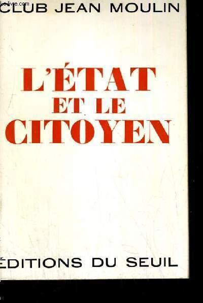 L ETAIT ET LE CITOYEN