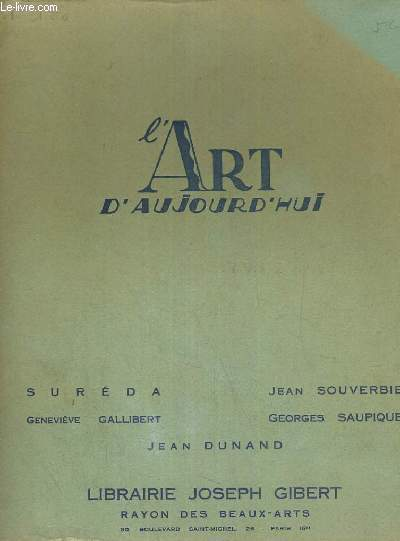 L ART D AUJOURD HUI
