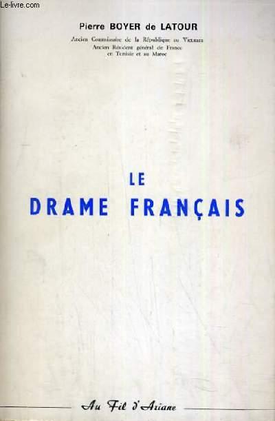 LE DRAME FRANCAIS
