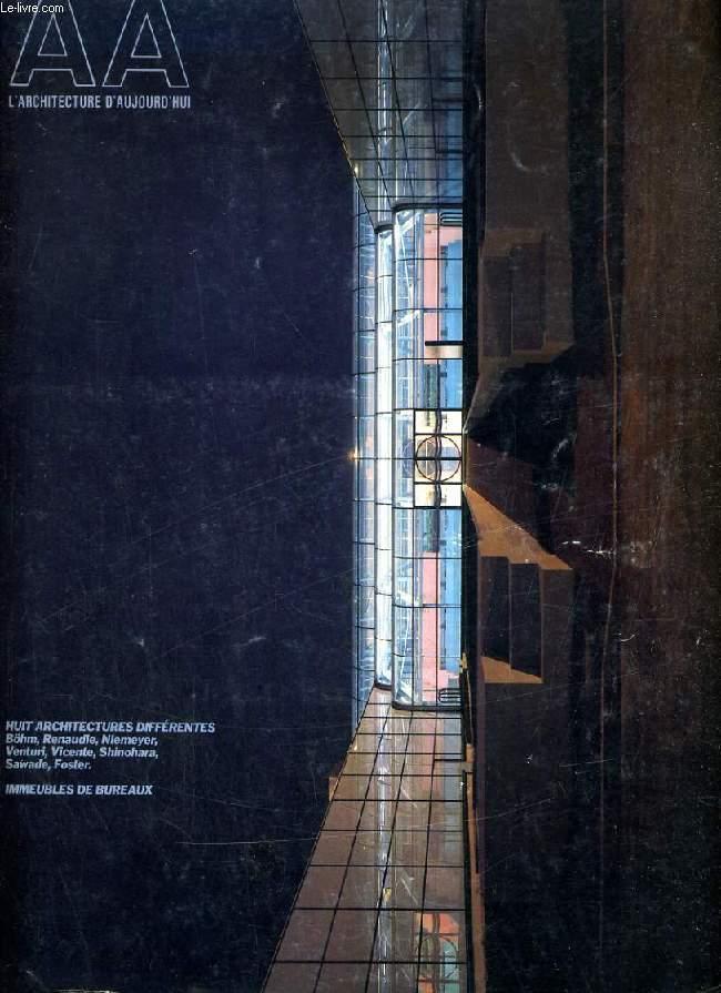 L'ARCHITECTURE D'AUJOURD'HUI, N° 228, SEPT. 1983, HUIT ARCHITECTURES DIFFERENTES