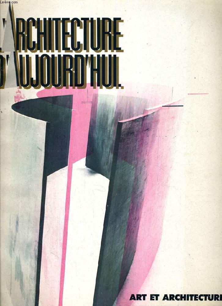 L'ARCHITECTURE D'AUJOURD'HUI, N° 284, DEC. 1992, ART ET ARCHITECTURE