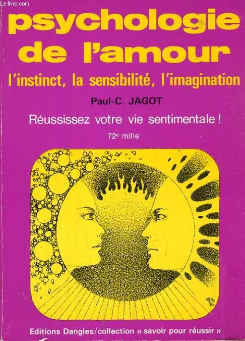PSYCHOLOGIE DE L'AMOUR, L'INSTINCT, LA SENSIBILITE, L'IMAGINATION
