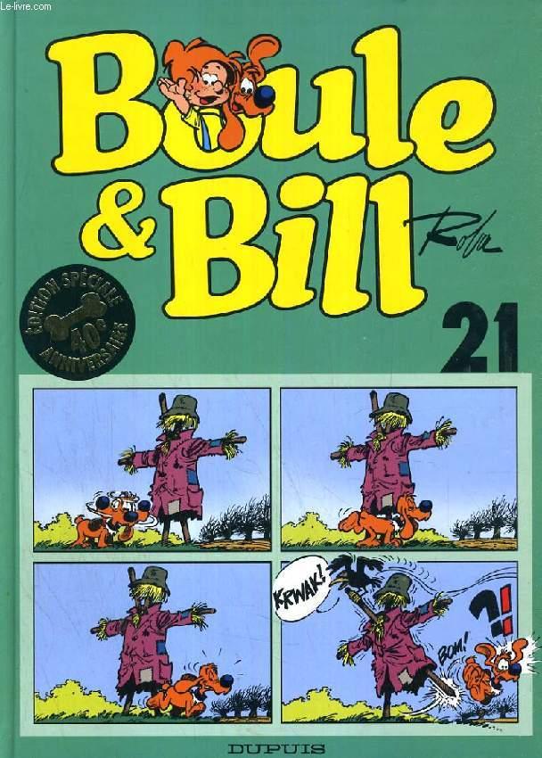 BOULE & BILL, ALBUM N° 21