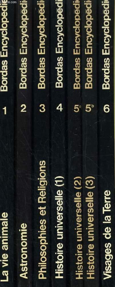 BORDAS ENCYCLOPEDIE, COMPLET EN 22 VOLUMES + 1 VOLUME (BEAUX-ARTS ENCYCLOPEDIE)