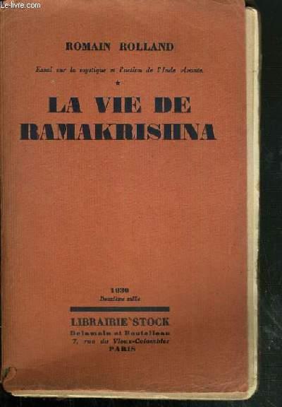 LA VIE DE RAMAKRISHNA.