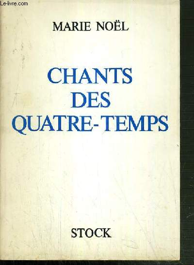 CHANTS DES QUATRE-TEMPS.