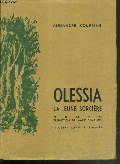 OLESSIA LA JEUNE SORCIERE.
