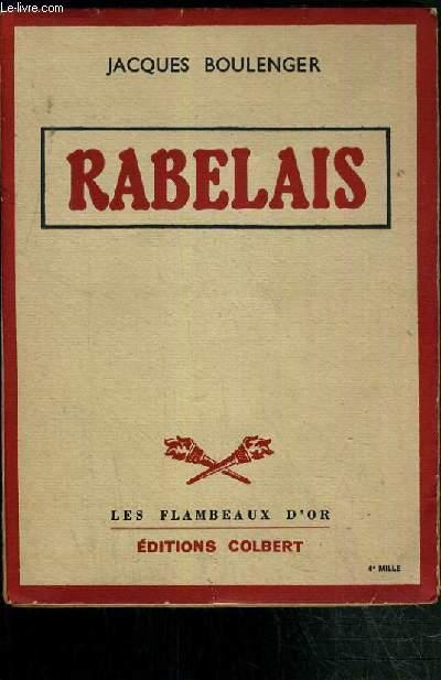 RABELAIS / LES FLAMBEAUX D'OR.