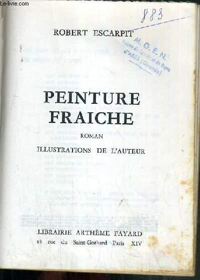 PEINTURE FRAICHE.