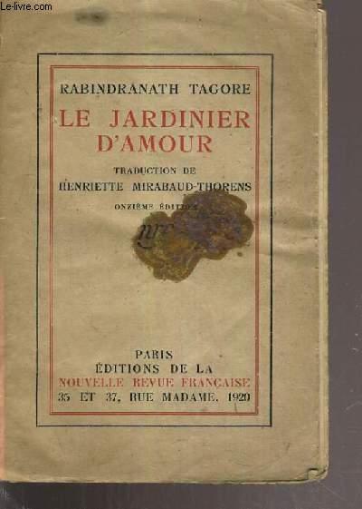 LE JARDINIER D'AMOUR - 11ème EDITION.