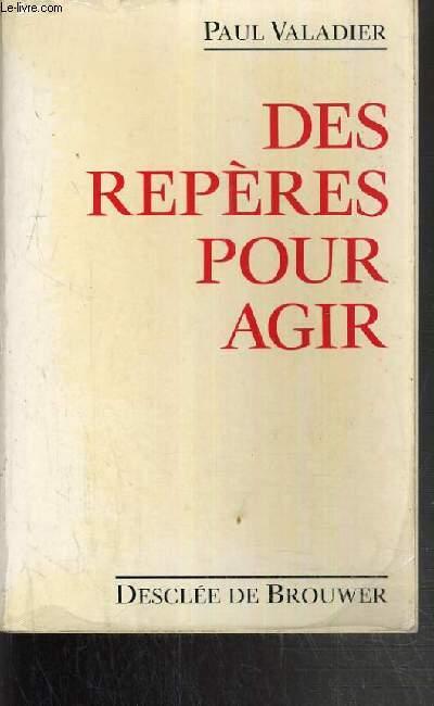 DES REPERES POUR AGIR.