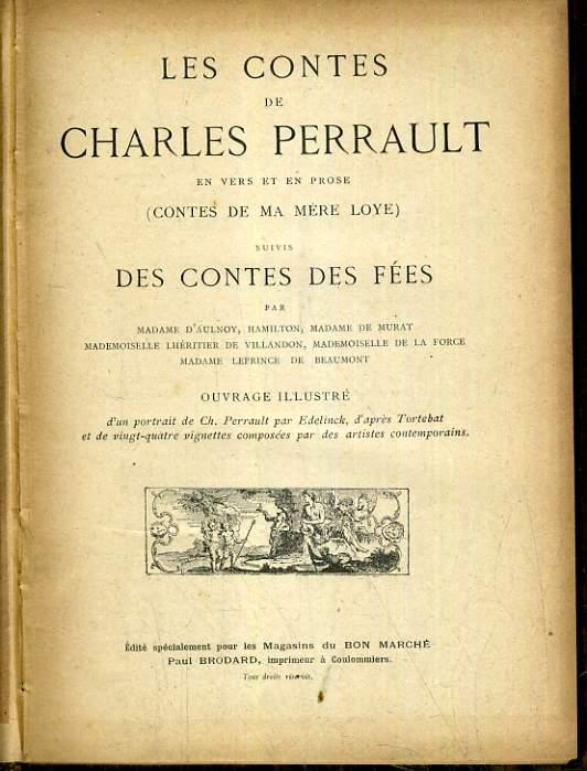 LES CONTES DE CHARLES PERRAULT EN VERS ET EN PROSE.