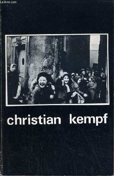 CHRISTIAN KEMPF - PHOT'ALBUM N°5 SUPPLEMENT AU °15 DE