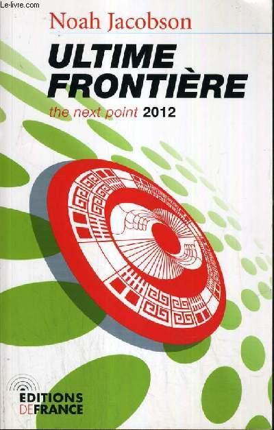 ULTIME FRONTIERE - THE NEXT POINT 2012 / COLLECTION ATHENA.