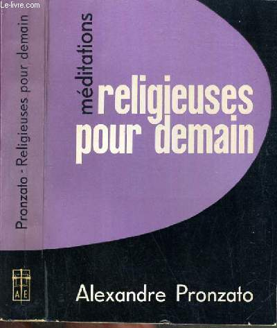 RELIGIEUSES POUR DEMAIN / COLLECTION MEDITATIONS.