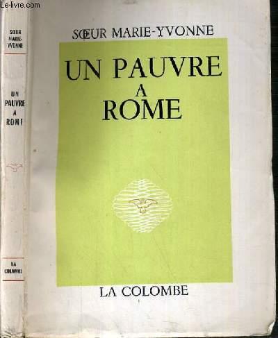 UN PAUVRE A ROME.