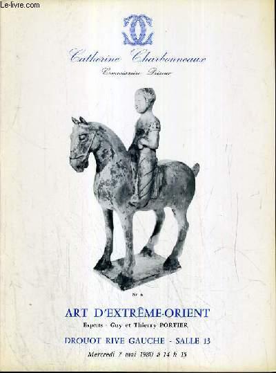 CATALOGUE DE VENTE AUX ENCHERES - DROUOT RIVE GAUCHE - ART D'EXTREME-ORIENT - SALLE 13 - 7 MAI 1980.
