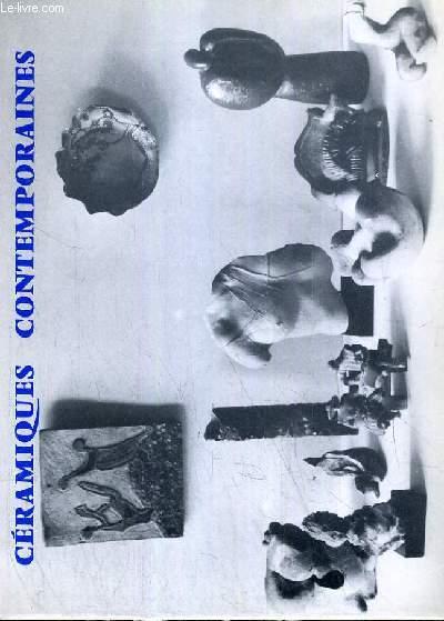 CATALOGUE DE VENTE AUX ENCHERES - NOUVEAU DROUOT - CERAMIQUES CONTEMPORAINES SCULPTURES - SALLE 8 - 19 NOVEMBRE 1983.